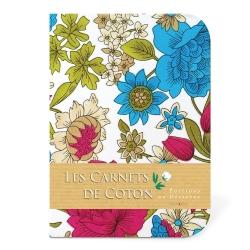 Carnet de Coton - Pivoines