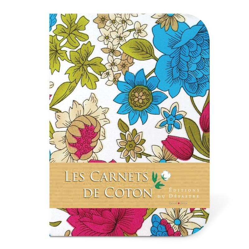 Carnet de Coton - Pivoines - Editions du Désastre - Boutique Les inutiles