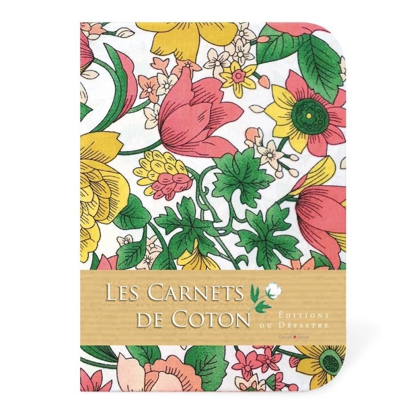 Carnet de Coton - Tulipes - Editions du Désastre - Boutique Les inutiles