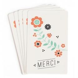 Mini Cartes Merci