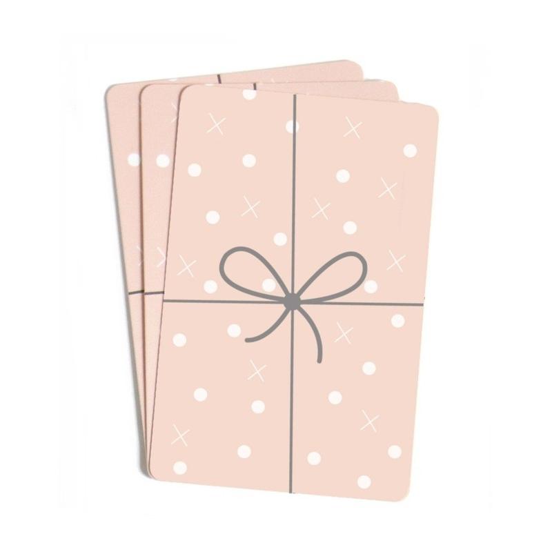 Lot de 10 Mini Cartes Cadeau - Illustrées par Zü - Boutique Les inutiles