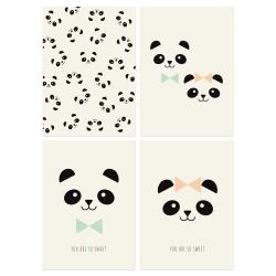 Cartes Postales Pandas