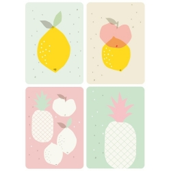 Cartes Postales Fruits