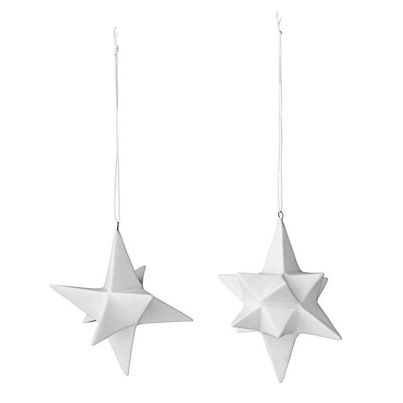 Duo d'étoile de Noël en volume - Bloomingville - Boutique Les inutiles