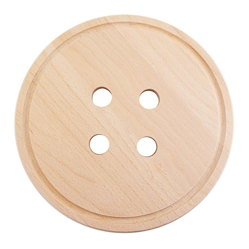 Planche à snacker en bois Bouton -  Snug Button - Snug Studio - Boutique Les inutiles