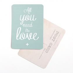 Carte All You Need Is Love - Amande