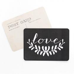 Carte Love - Ardoise