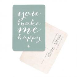 Carte You Make Me Happy - Sauge