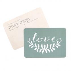 Carte Love - Sauge