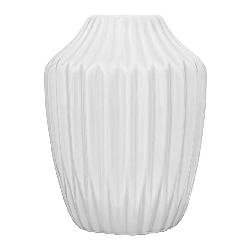 Petit Vase Origami Blanc Mat - Bloomingville - Boutique Les inutiles