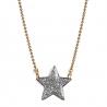 Bijoux pour enfant • Collier étoile et pendentif à paillettes argenté • idée cadeau petite fille • bijou créateur Les inutiles