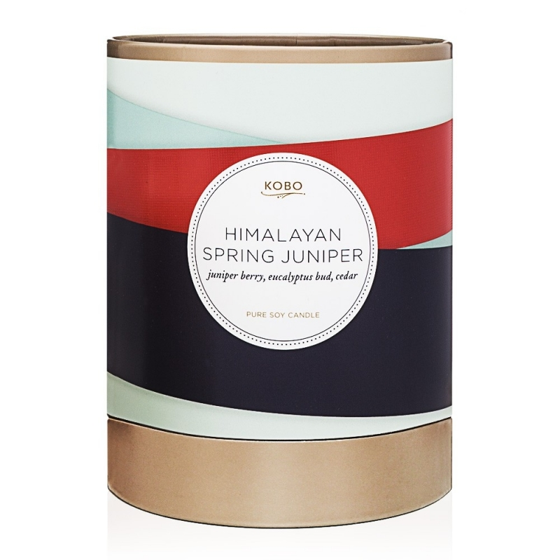 Bougie Himalayan Spring Juniper - boutique Les inutiles