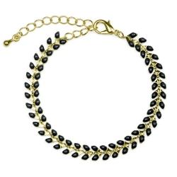 Bracelet Epis Noir