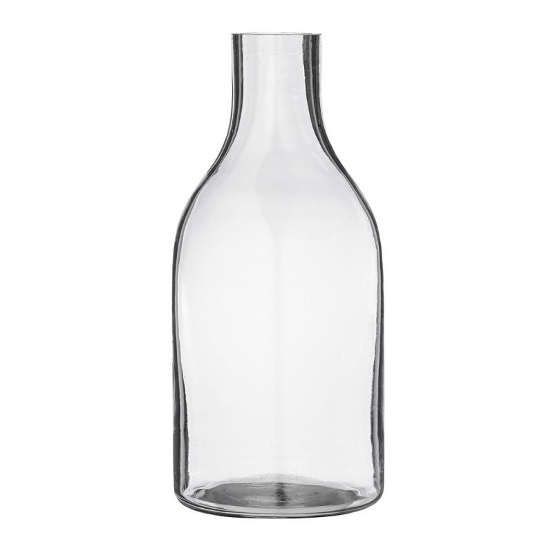 Vase Bouteille Gris Fumé  - Bloomingville - Boutique Les inutiles