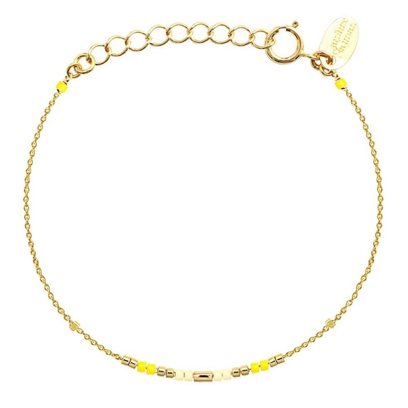Bracelet Alexandra Mimosa - Bijoux Caroline Najman - Boutique Les inutiles