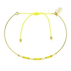 Bracelet Jonc Alexandra - Mimosa