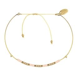 Bracelet Jonc Alexandra - Champagne