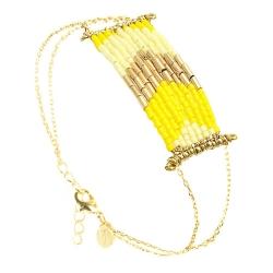 Bracelet Folk - Mimosa