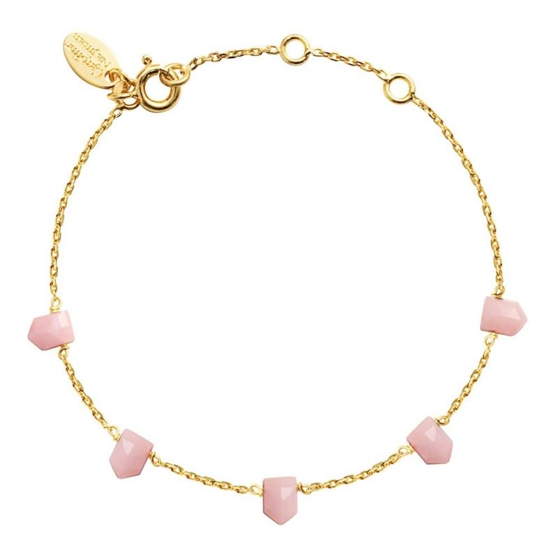 Bracelet Jaipur Opale Rose - Bijoux Caroline Najman - Boutique Les inutiles