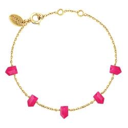 Bracelet Jaipur - Onyx Rose