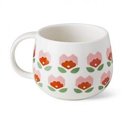 Tasse à Fleurs Roses