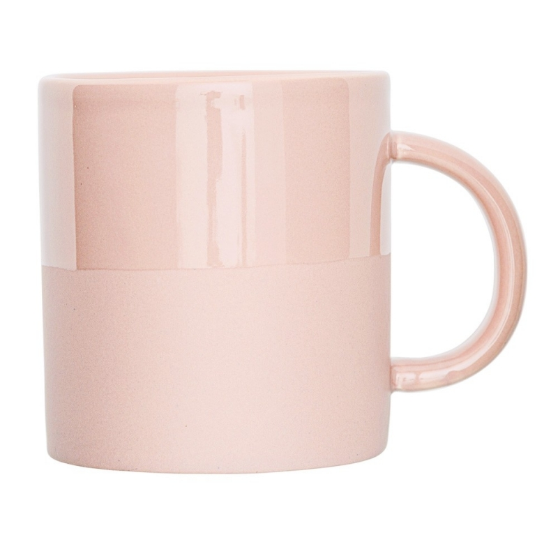 Mug Rose Mat et Brillant - Bloomingville - Boutique Les inutiles