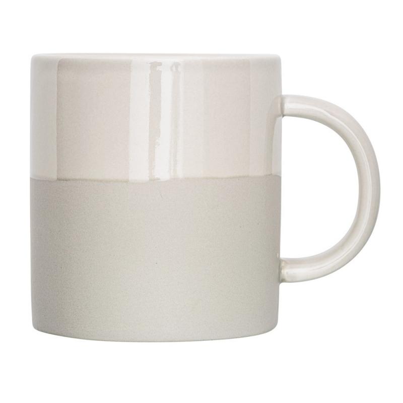 Mug Taupe Mat et Brillant - Bloomingville - Boutique Les inutiles