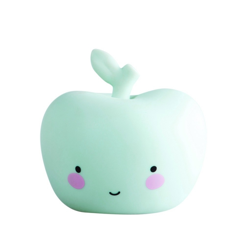 Veilleuse Pomme - Apple Light Mint - A Little Lovely Company - Boutique Les inutiles