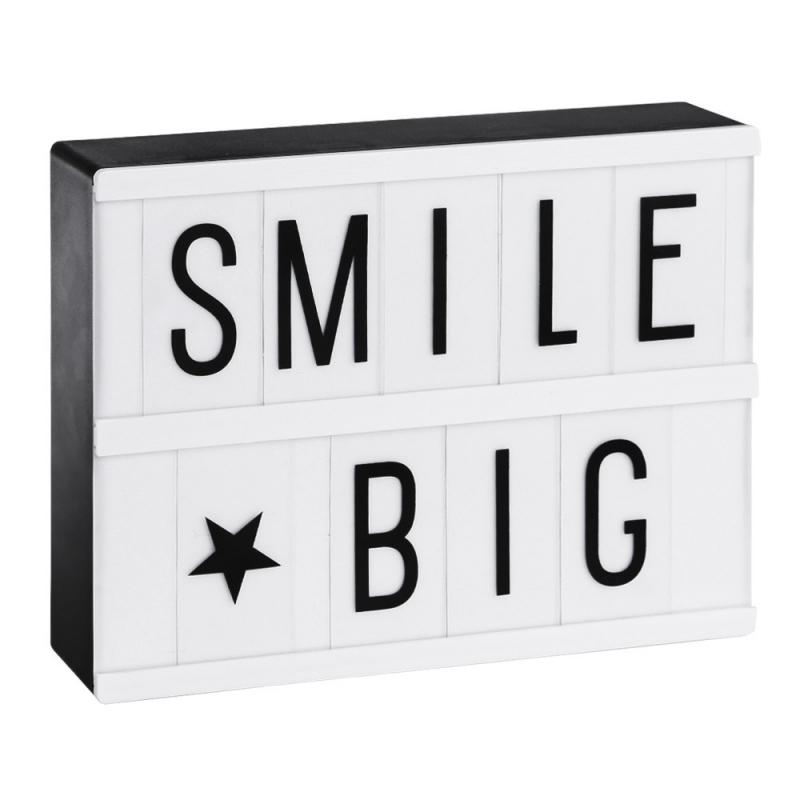 Petite Lightbox A5 - Noir & Blanc - A Little Lovely Company - Boutique Les inutiles