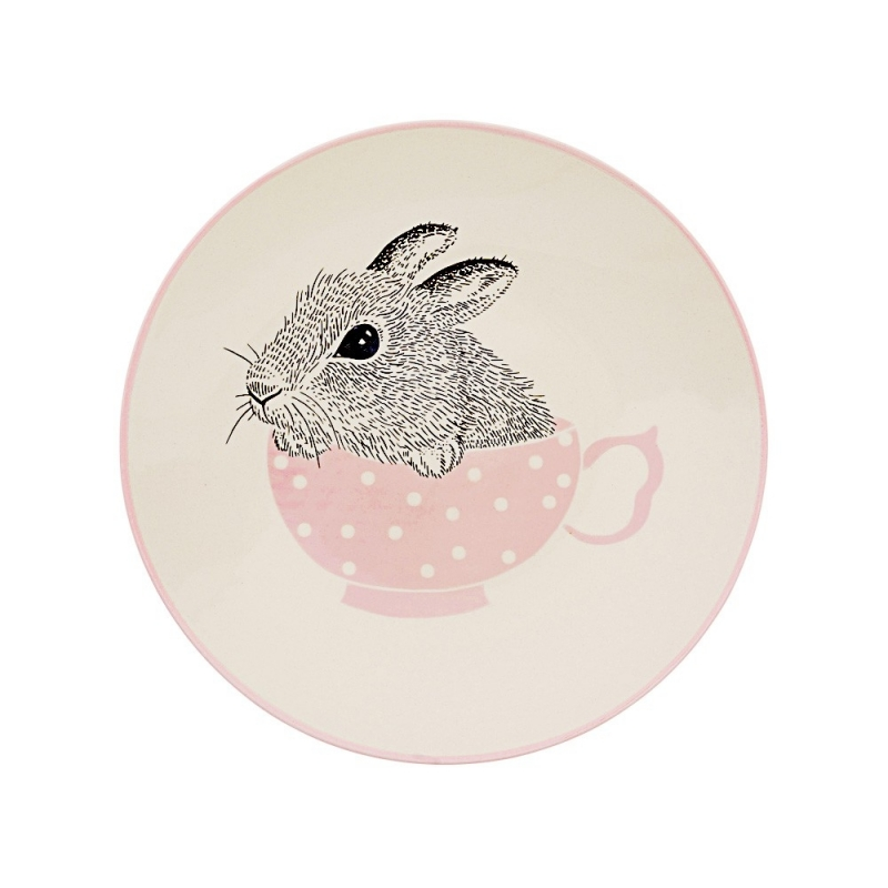Petite Assiette Alice - Lapin Tasse - Nanna Bloomingville - Boutique Les inutiles