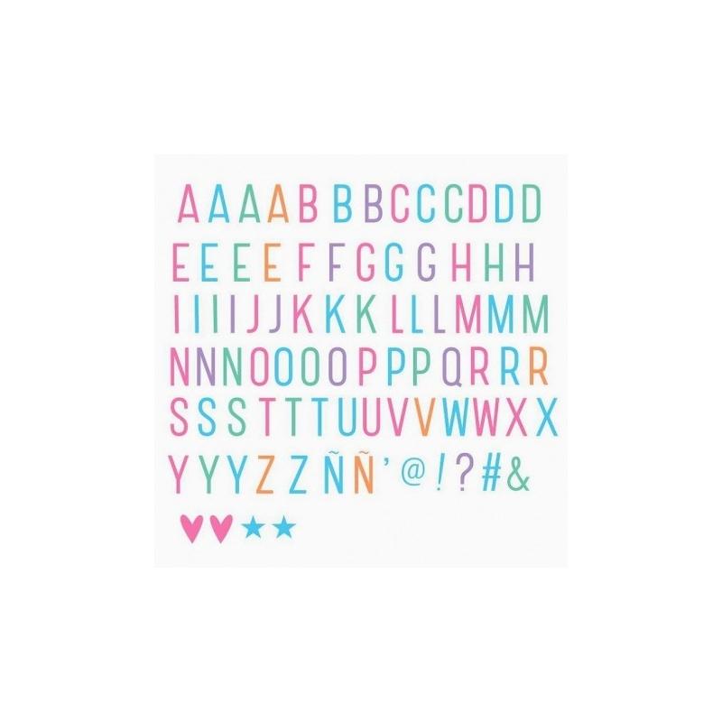 85 Lettres & Symbols Pastel pour Lightbox - Letters & Symbols - A Little Lovely Company - Boutique Les inutiles