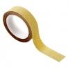masking tape doré à paillette Bloomingville • scrapbooking et emballage cadeaux or • Les inutiles