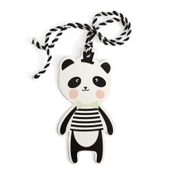 3 Etiquettes Panda