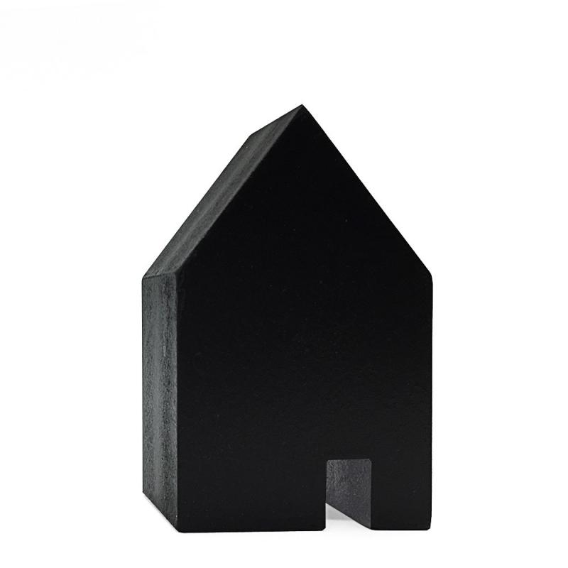 Petite Maison en Bois Noir - Madam Stoltz - Boutique Les inutiles