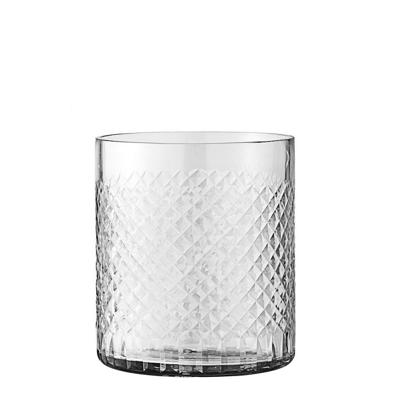 Photophore en verre ciselé - Bloomingville - Boutique Les inutiles
