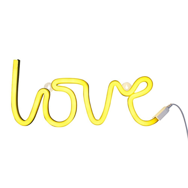 Lampe LOVE Style Néon - Neon Style LOVE - A Little Lovely Company - Boutique Les inutiles