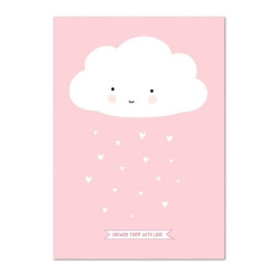 Poster Happy Cloud (format 50x70)