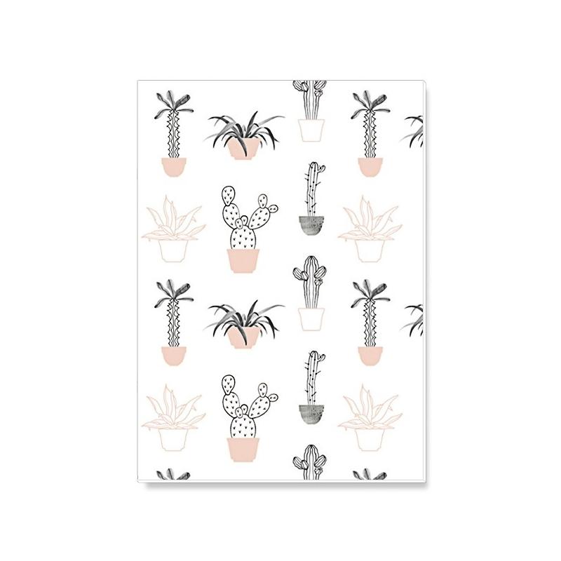 Notebook Cactus - Carnet Botanic - Illustrée par Audrey Jeanne - Boutique Les inutiles