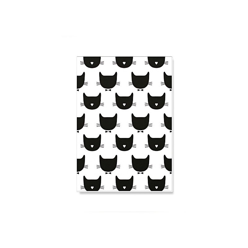 Notebook Kitty - Petit Carnet Chat - Illustrée par Audrey Jeanne - Boutique Les inutiles