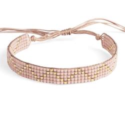 Bracelet Miyuki - n°5 Nude