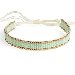 Bracelet Miyuki - n°5 Mint
