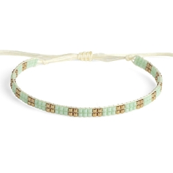 Bracelet Miyuki - n°2 Mint