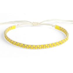 Bracelet Miyuki - n°2 Citron