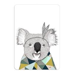 Carte Koala Sioux - Format A6 ou A5