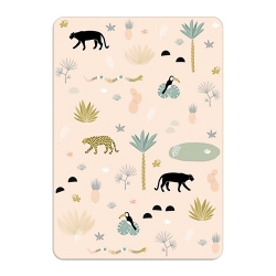 Carte Jungle World - Format A6 ou A5