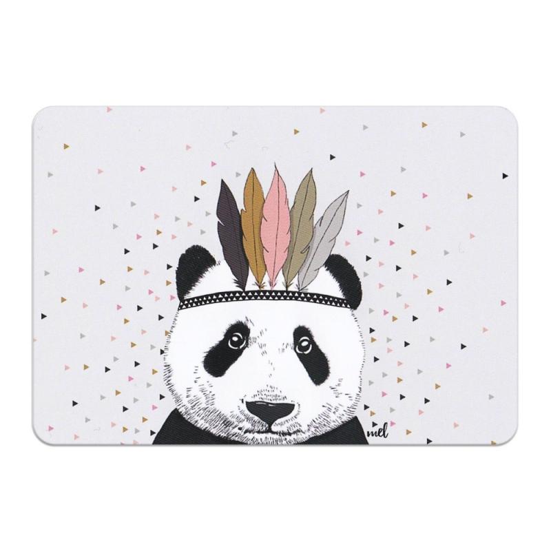 Carte Postale Panda Apache - Format A6 ou A5 Illustré par Minimel - Boutique Les inutiles