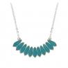 Collier Bali turquoise - Laëti Trëma - Les inutiles