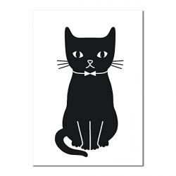 Carte Postale Kitty Assis