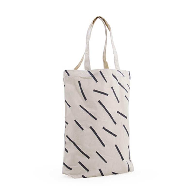 Tote Bag Stripes - Toile en coton épaisse et résistante - Boutique Les inutiles