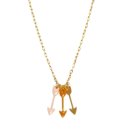 Collier Arrows - Collection Titlee - Pendentif flèche - Boutique Les inutiles